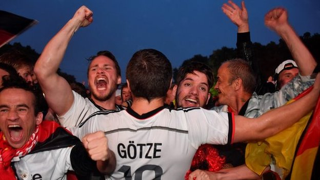 'A rollercoaster' - a watershed win for Germany?