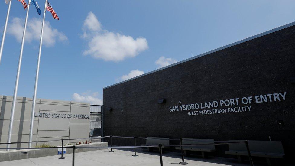 La estación fronteriza de San Ysidro en San Diego (California) cerrada el pasado 21 de abril.