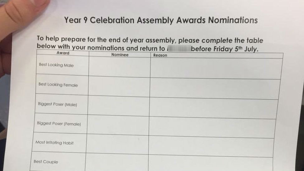 Hugh Christie School asks for 'best looking' pupil votes