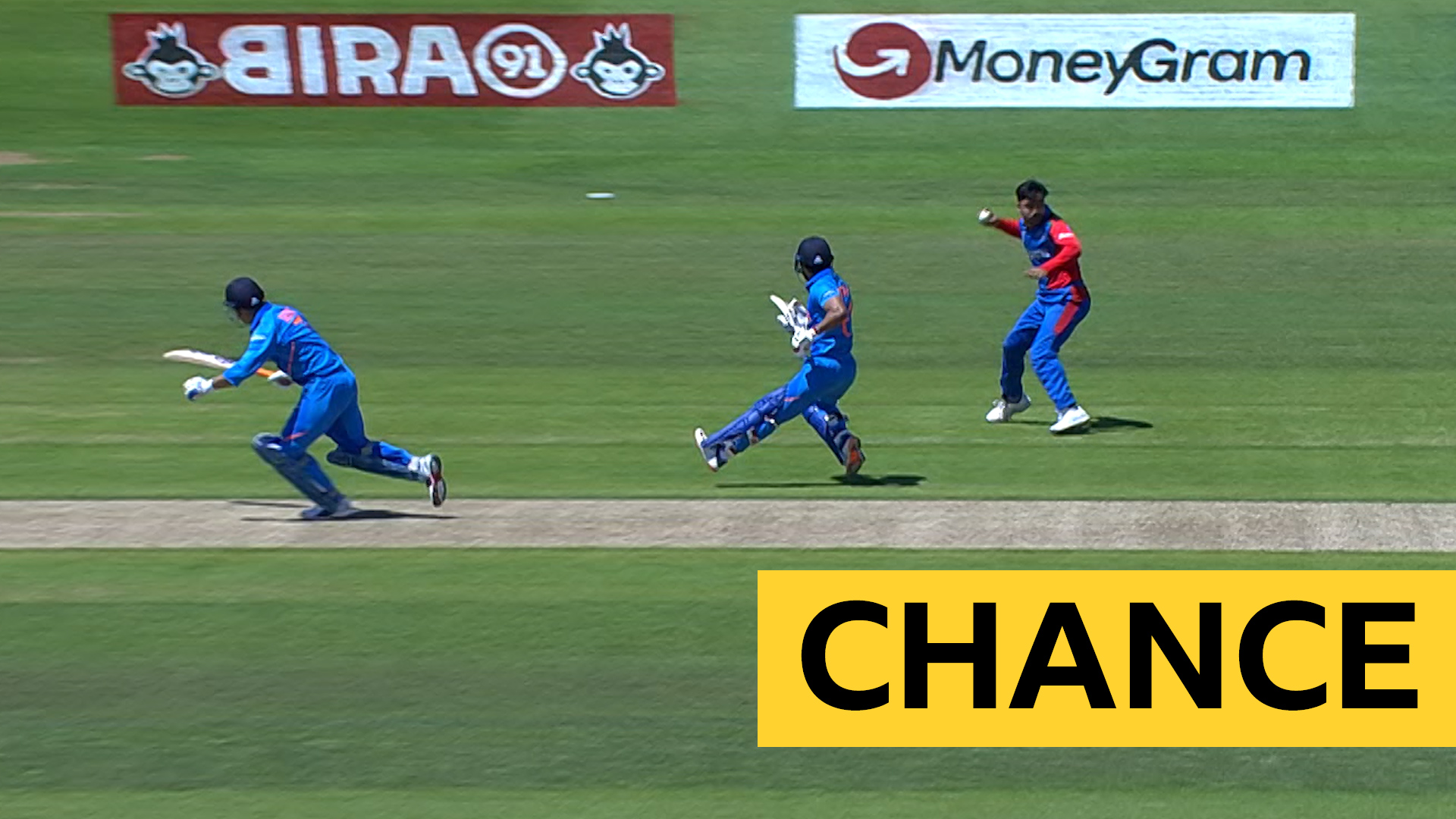 Cricket World Cup: India's MS Dhoni & Kedar Jadhav survive run out chance v Afghanistan