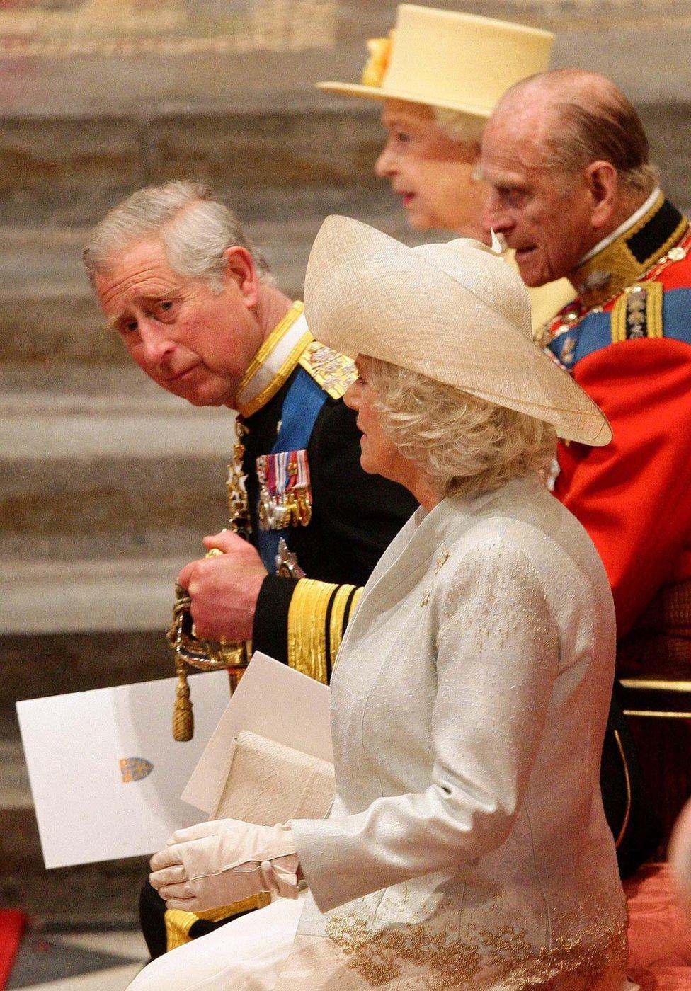 Na venčanju starijeg sina u Vestminsterskoj palati