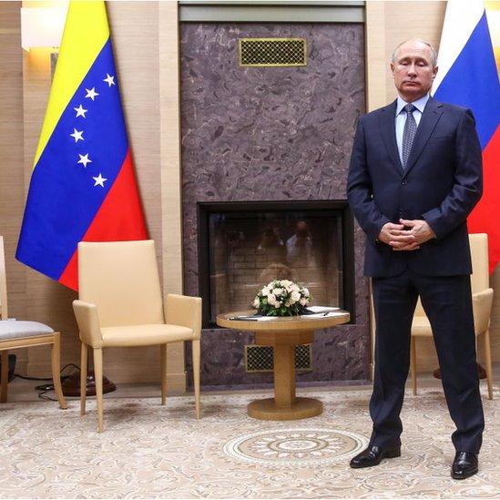 Vladimir Putin. NO USAR / BBC.