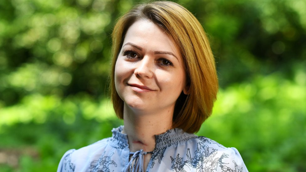 Yulia Skripal: 'We are so lucky to survive'