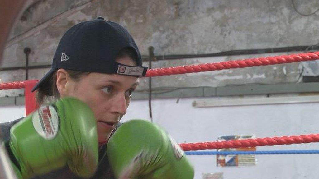 Kristen Fraser: Scottish bantamweight ready for Commonwealth title fight