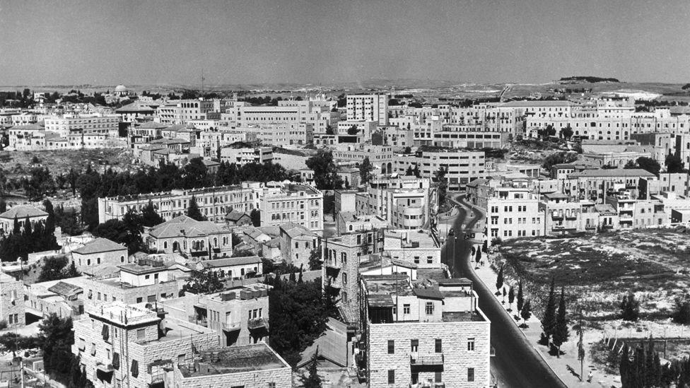 القدس عام 1965