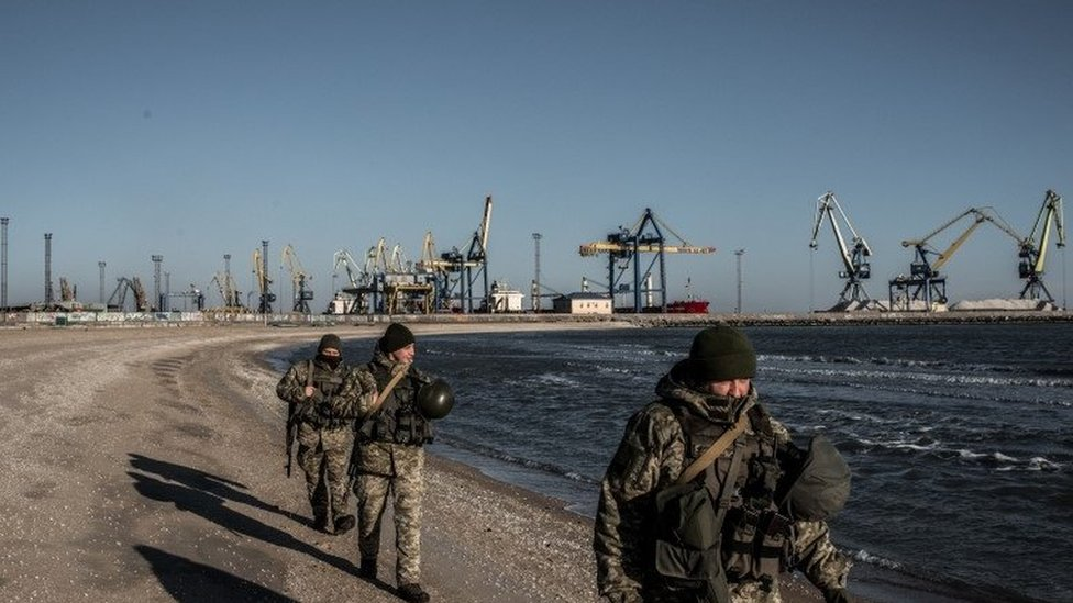Ukrajinski vojnici u Marijupolju