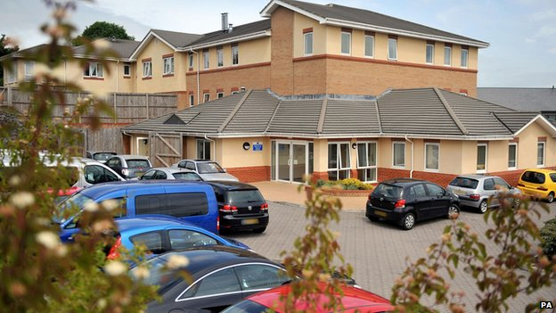 General view of the Winterbourne View residential hospital in Bristol