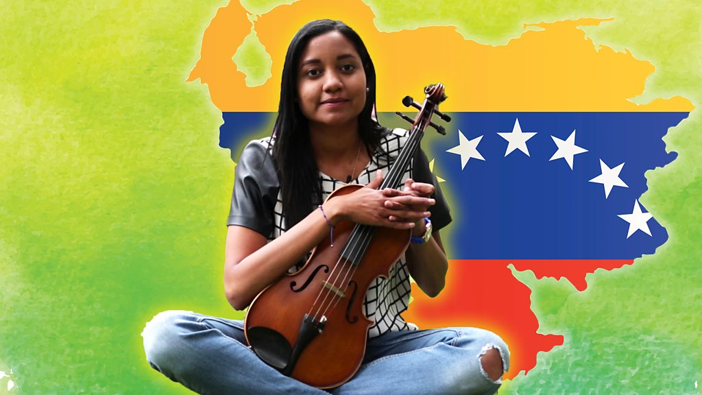 From Venezuela's concert halls to the streets of Colombia
