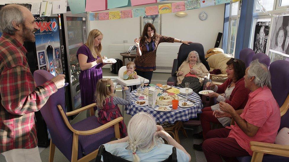 Decima Minhinnick 90th birthday party