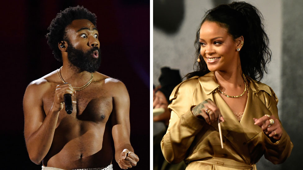 BBC News - Donald Glover and Rihanna film Guava Island: What we know