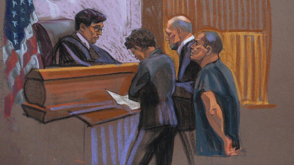 """Juicio contra """"El Chapo"""" Guzmán."""