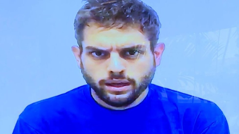Imagen de video de Juan Requesens.