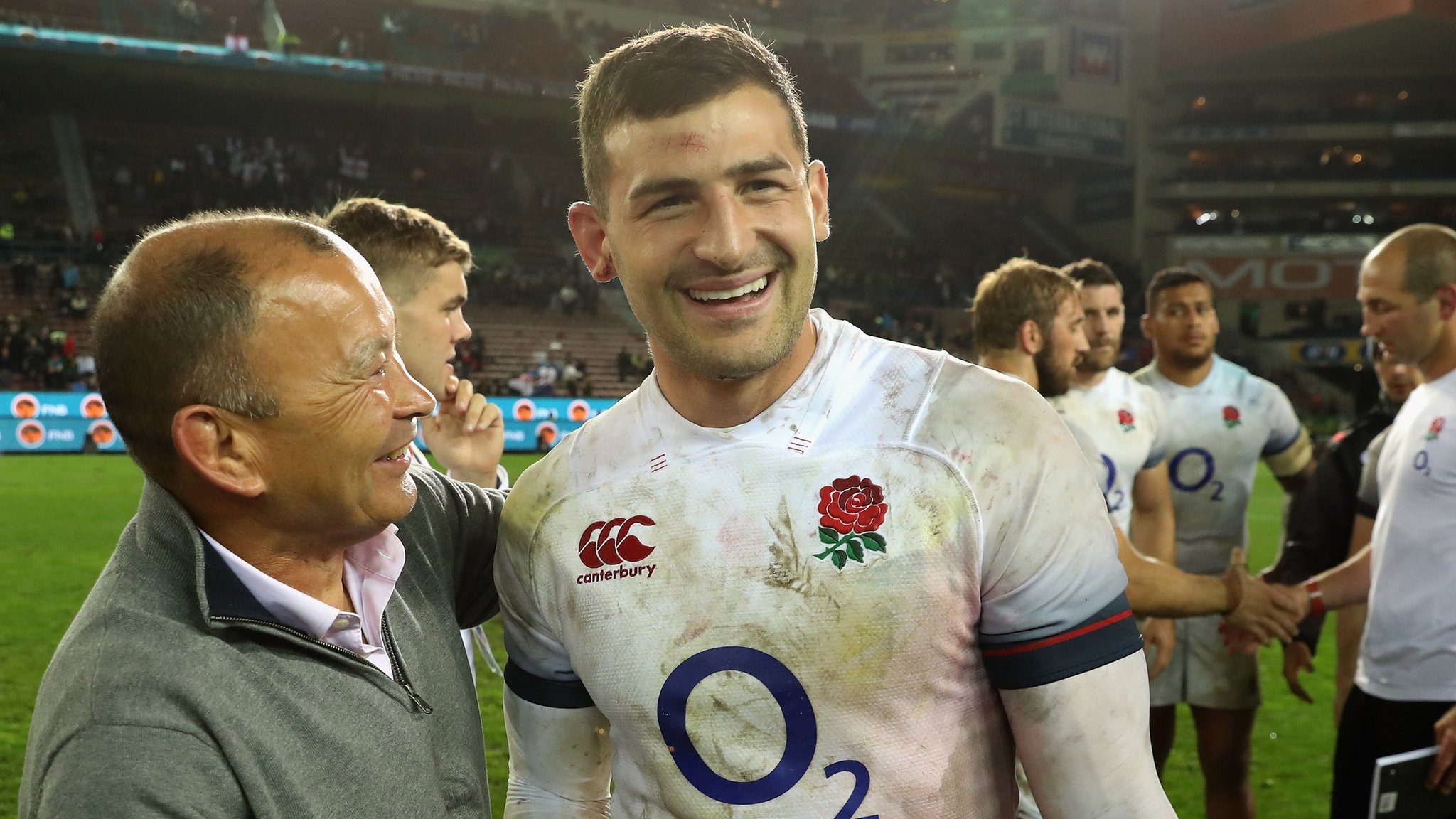 Jonny May: England attack coach says Leicester player could become world's best wing
