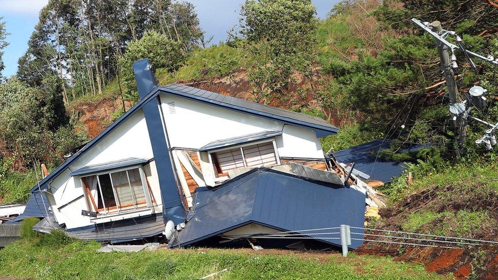 Oštećena kuća
