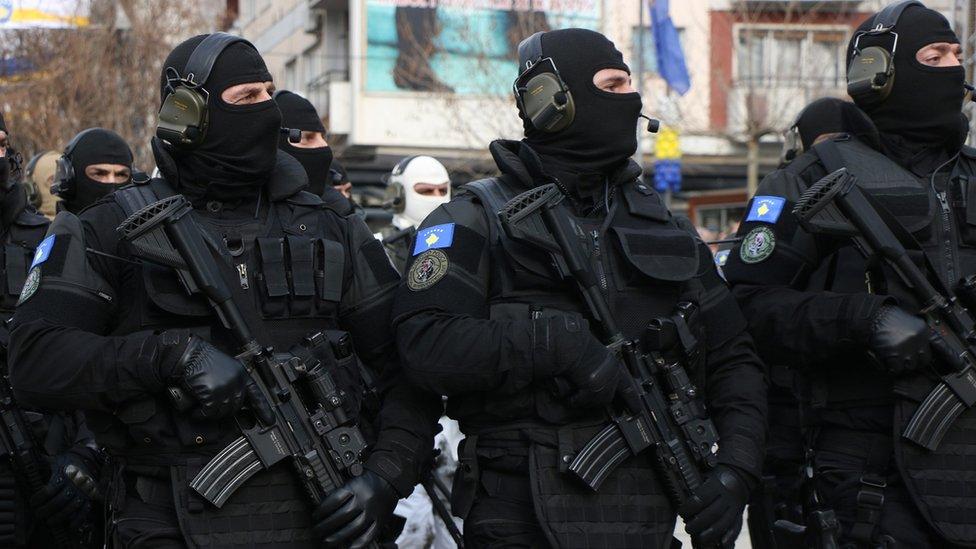 Kosovo special police ROSU