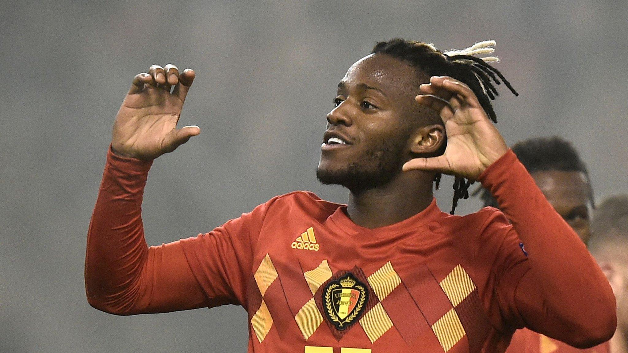 Belgium 2-0 Iceland: Michy Batshuayi scores twice in comfortable win