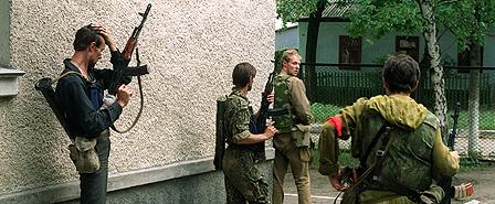 Militia defending the self-proclaimed Trans-Dniester