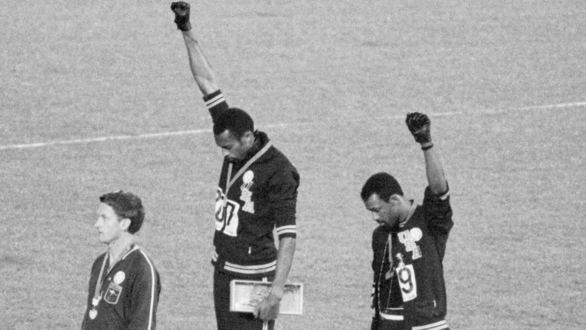 'I cried when Kaepernick took the knee' - Smith reflects on Black Power salute 50 years on from Mexico