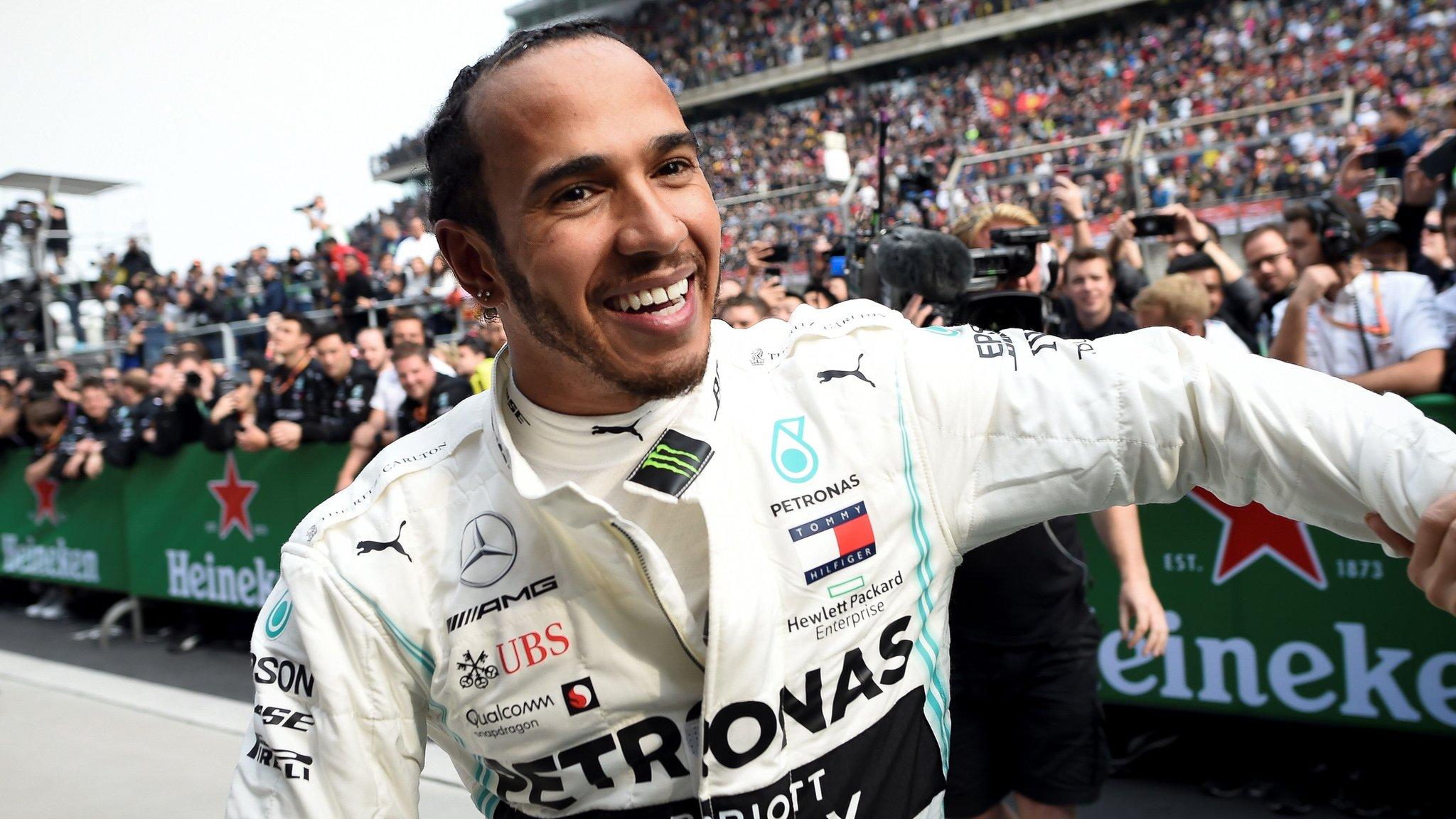 Lewis Hamilton is 'on the same level' as Ayrton Senna - Gerhard Berger