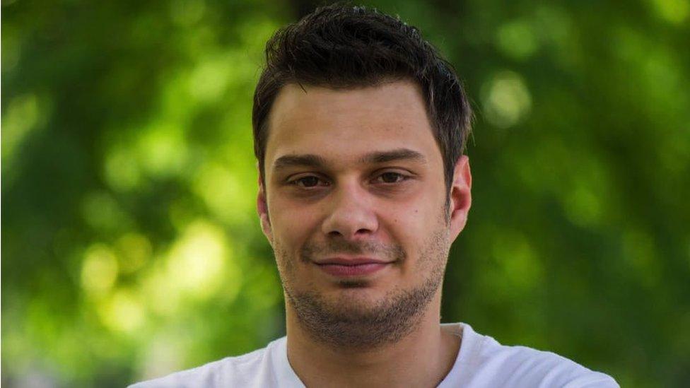 Student Aleksandar Todorović