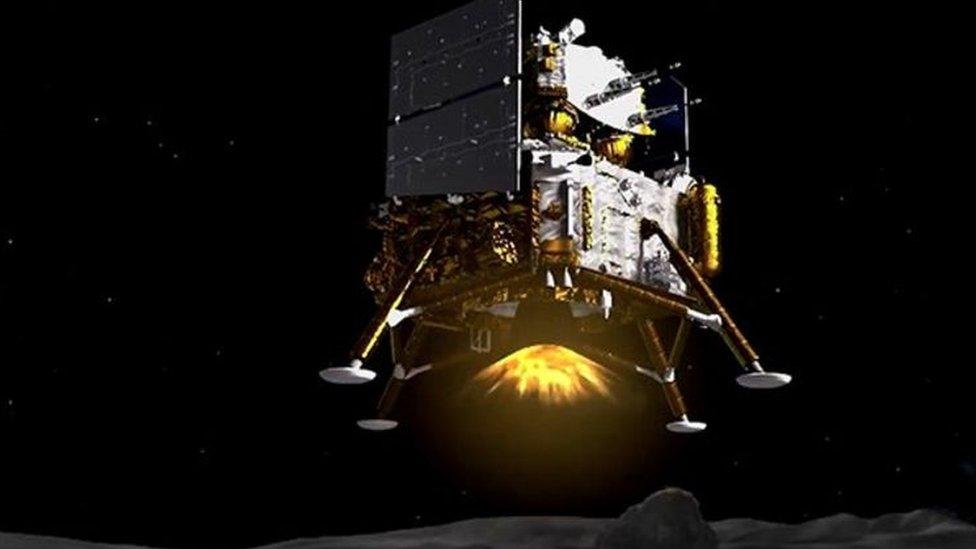 Ilustración artísitica de la sonda Chang'e-5