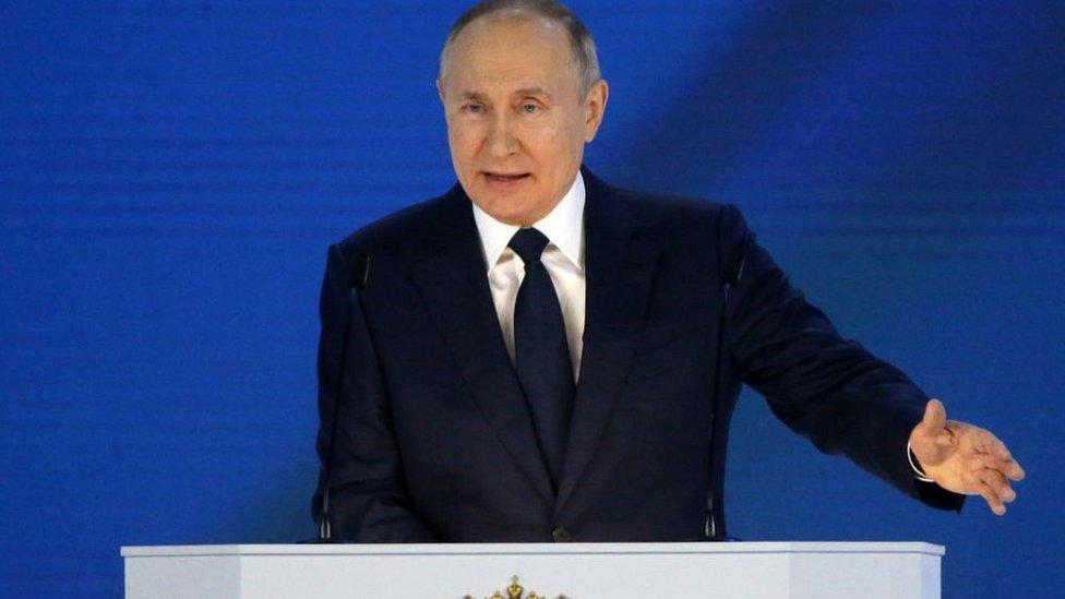 President Putin, 21 Apr 21