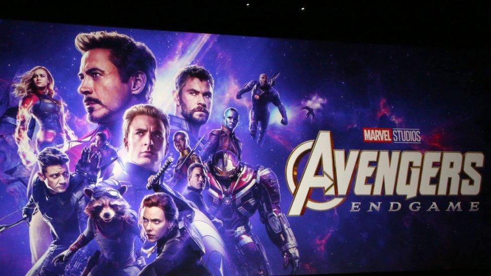 Avengers: Endgame filminin posteri