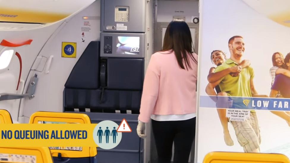 Screengrab from Ryanair promotional video