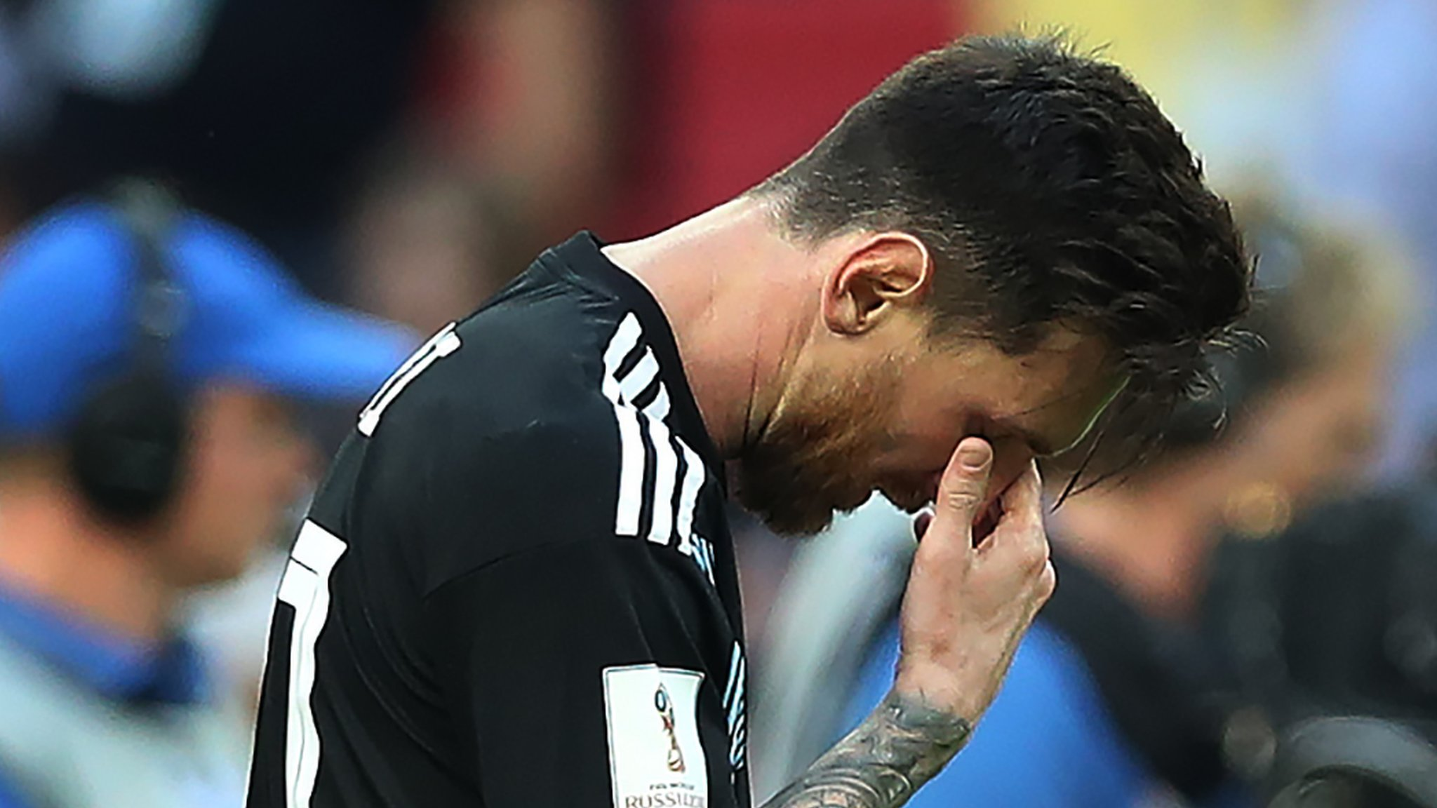 Lionel Messi: Argentina star says saved penalty at World Cup 'hurts'
