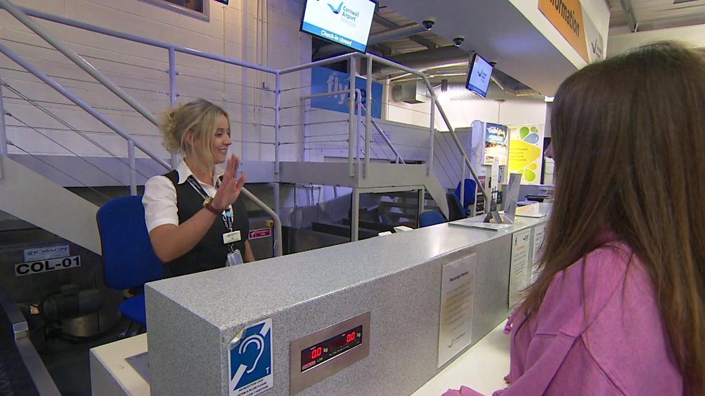Newquay Airport staff learn language programme to help passengers