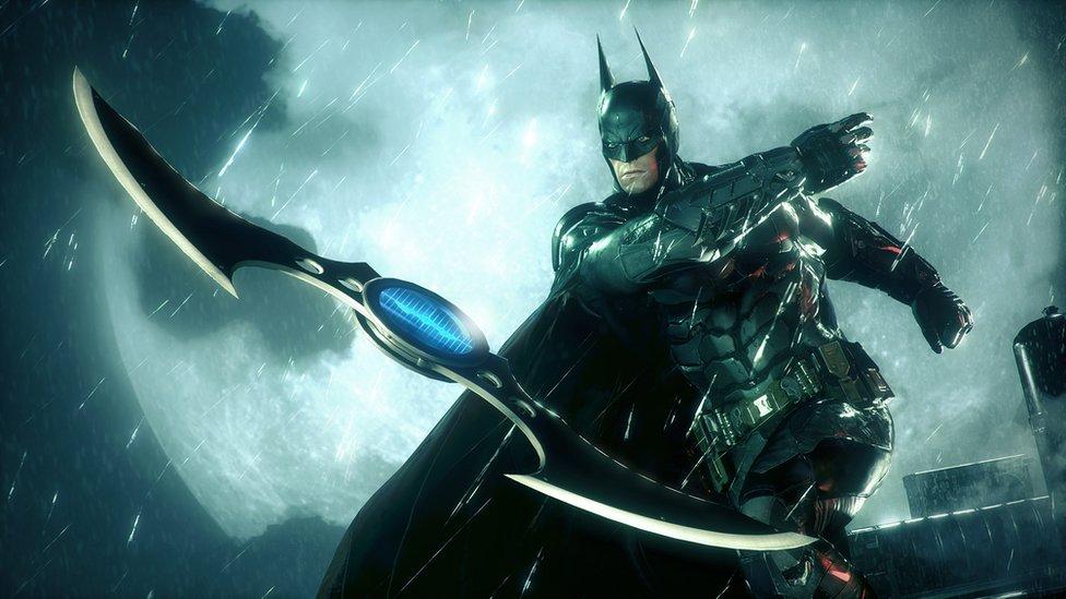 Still from Batman Arkham Knight