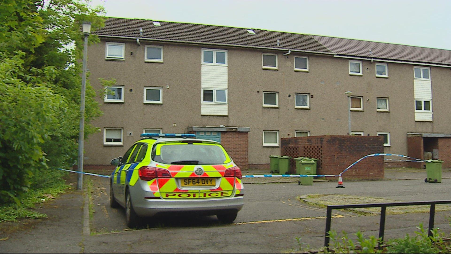 Attempted murder probe after flat brawl in Bishopbriggs