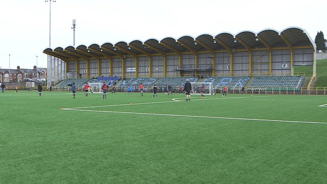 Barry Town United's home ground Jenner Park