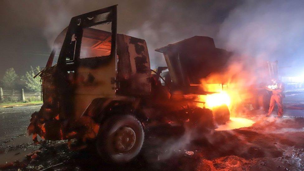 ataque camion