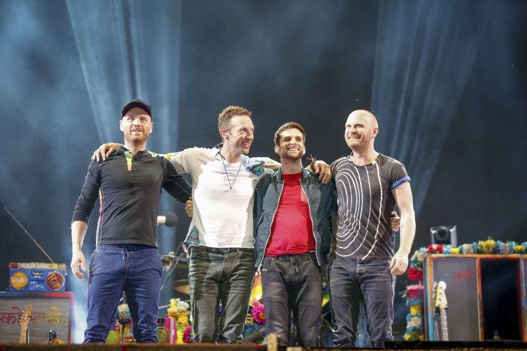 Coldplay grup konser