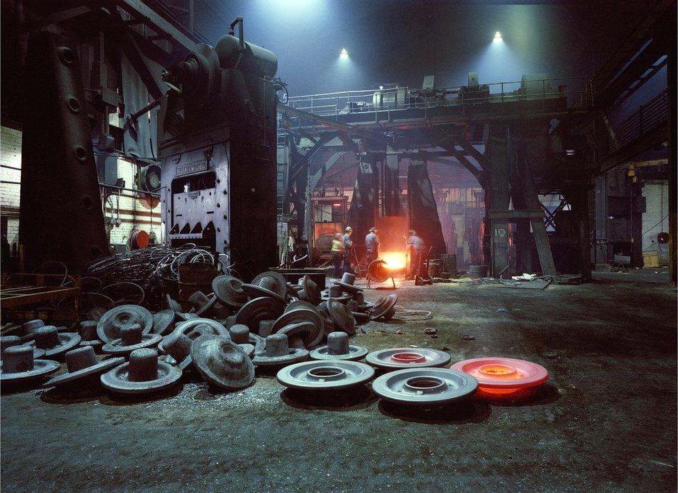 George Turton's on last night of production 1984