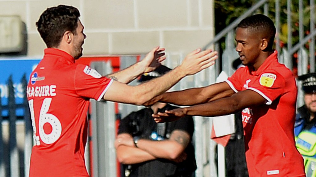 Crawley Town 4-1 Newport County: Crawley crush 10-man Newport