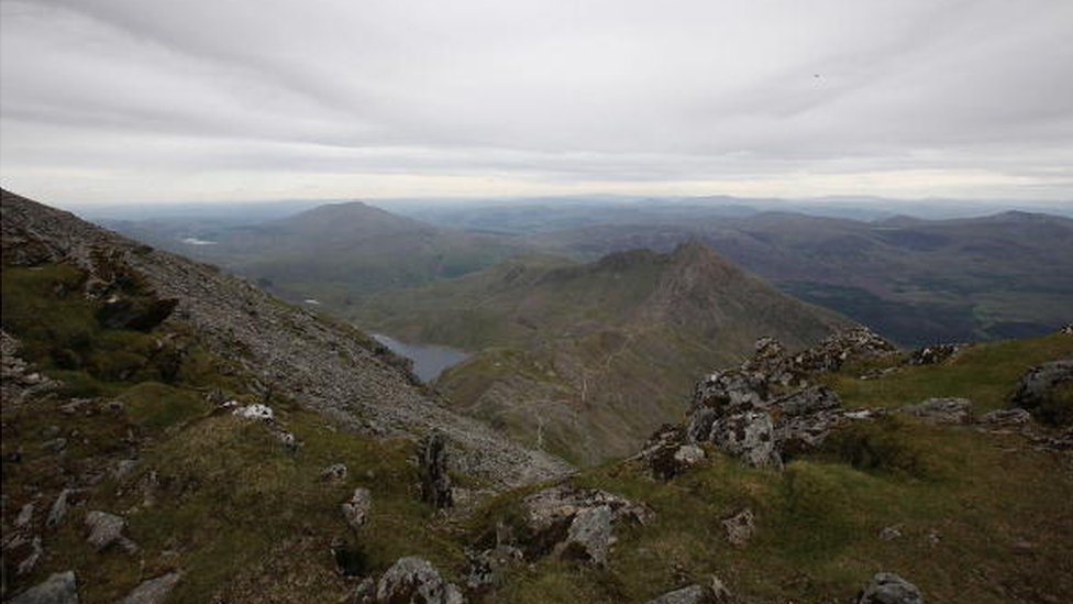 A view from Snowdon