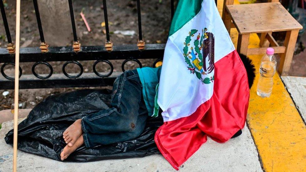 Niño en la calle, México