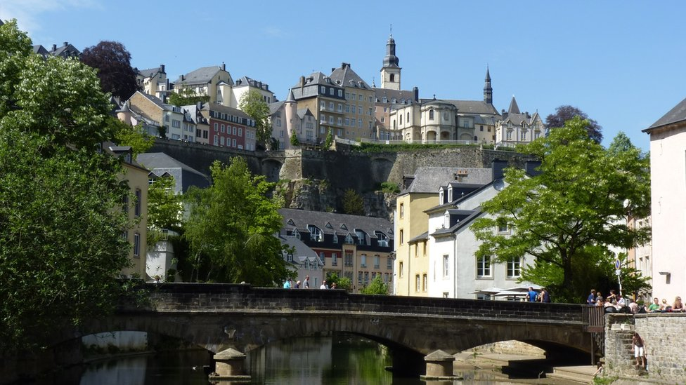 Buildings in Luxembourg City