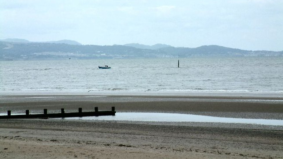 Two in hospital after chasing ball into sea on Rhyl beach