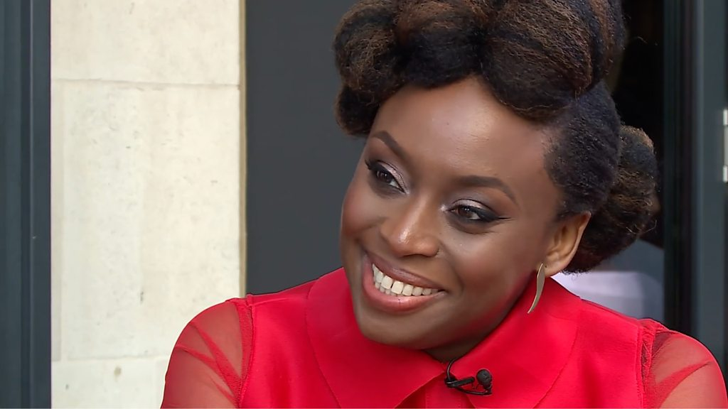 Chimamanda Ngozi Adichie: 'We all breathe misogyny'