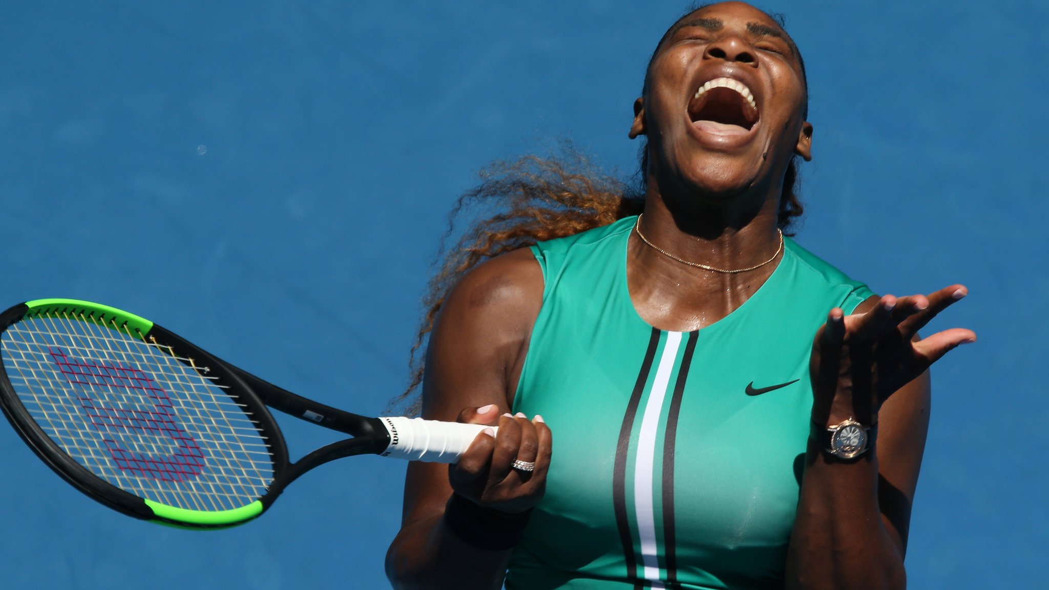 Serena Williams knocked out of Australian Open by Karolina Pliskova after holding match points