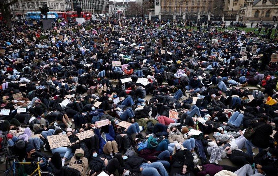 Protesta en Londres.