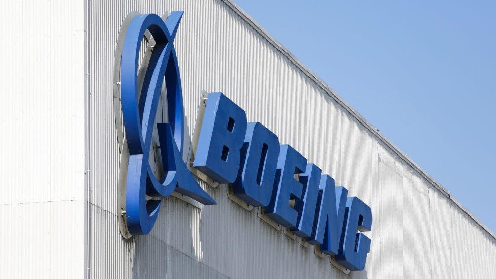 شعار شركة بوينغ للطيران