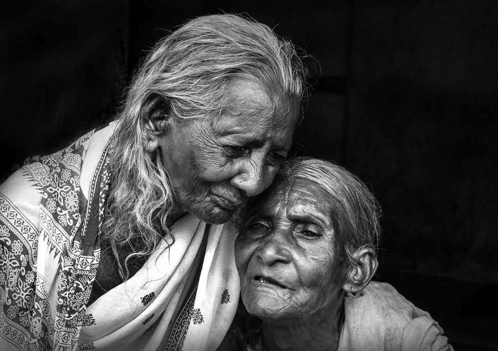 Two women in Purulia, West Bengal.