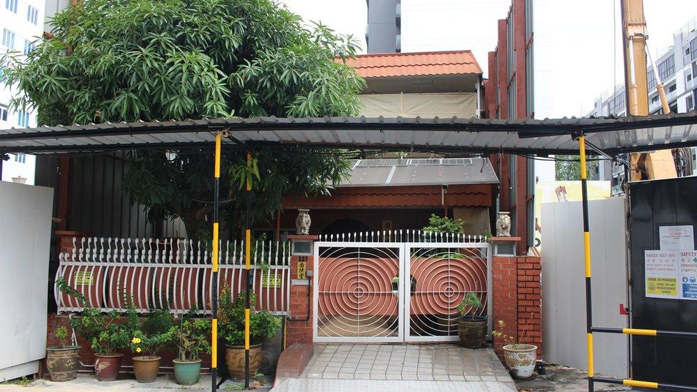 Rumah di Singapura