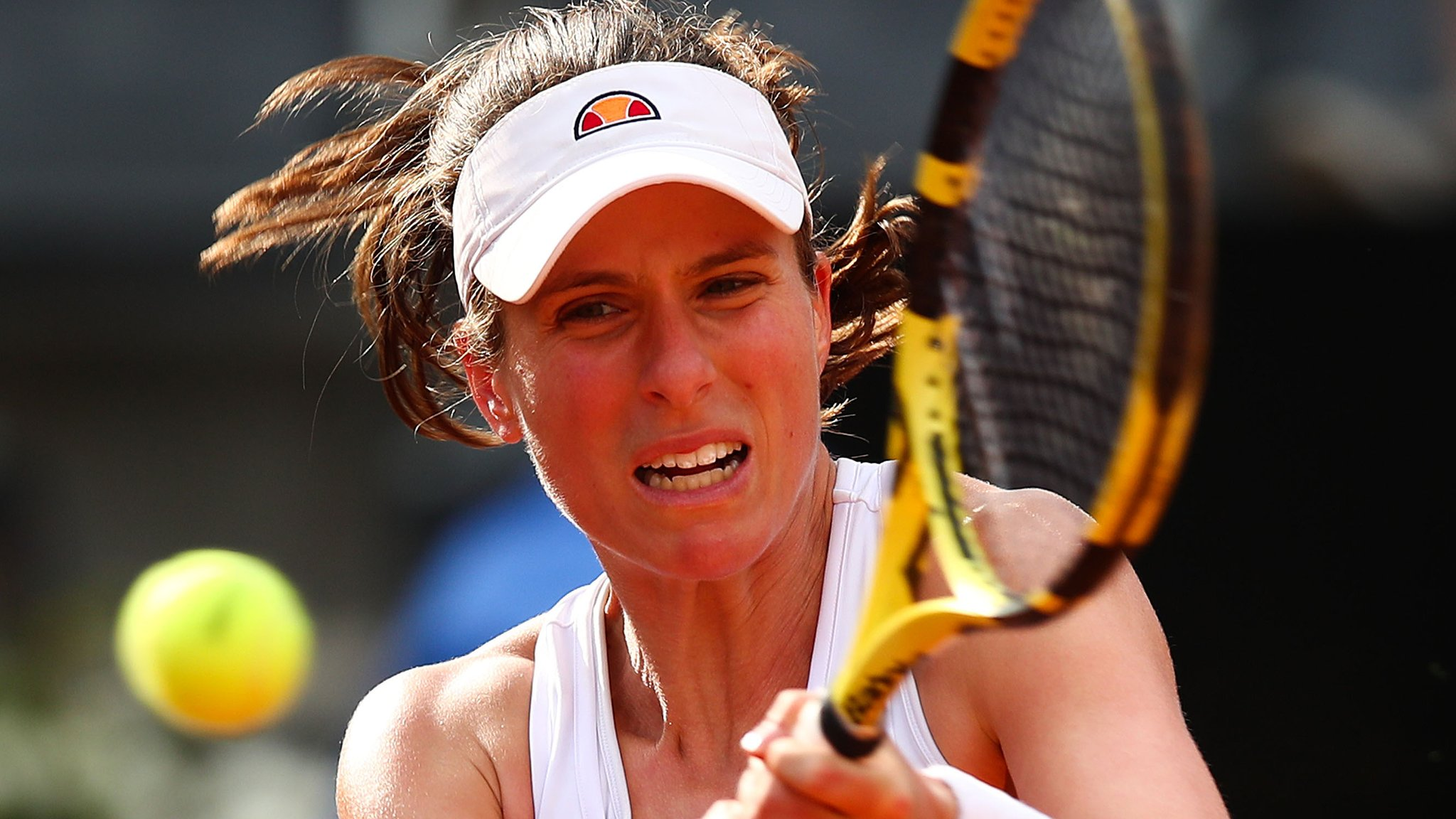 Konta surges into Italian Open last four but Osaka out with hand injury