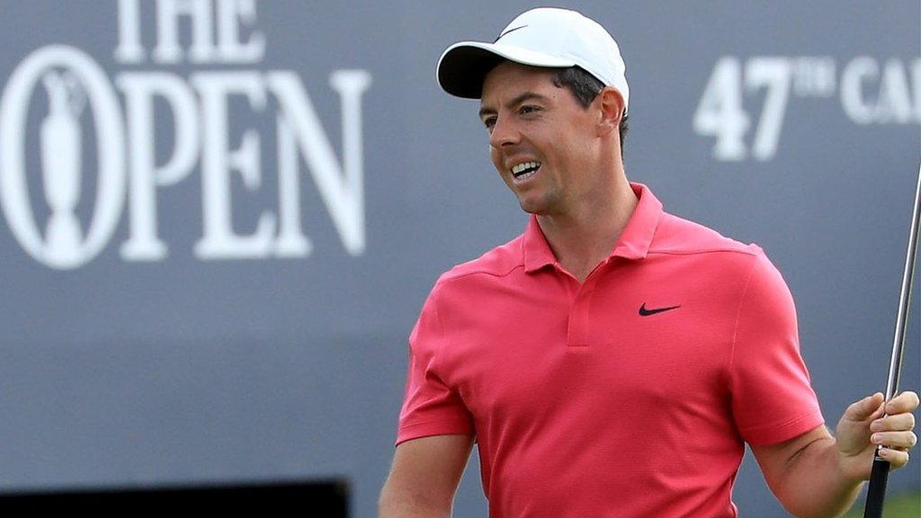 I ran out of holes at the end - McIlroy
