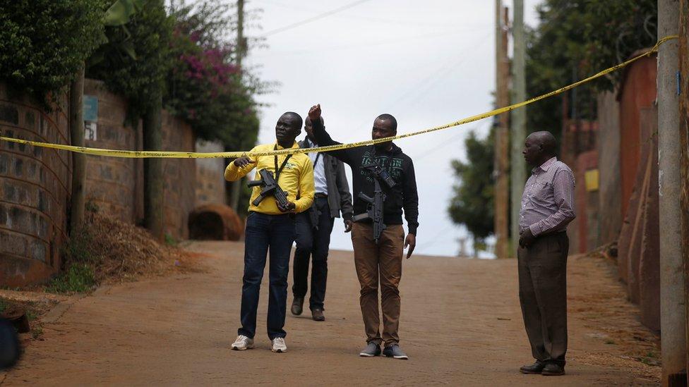 Kenya attack: Nine arrests over bloody DusitD2 hotel siege
